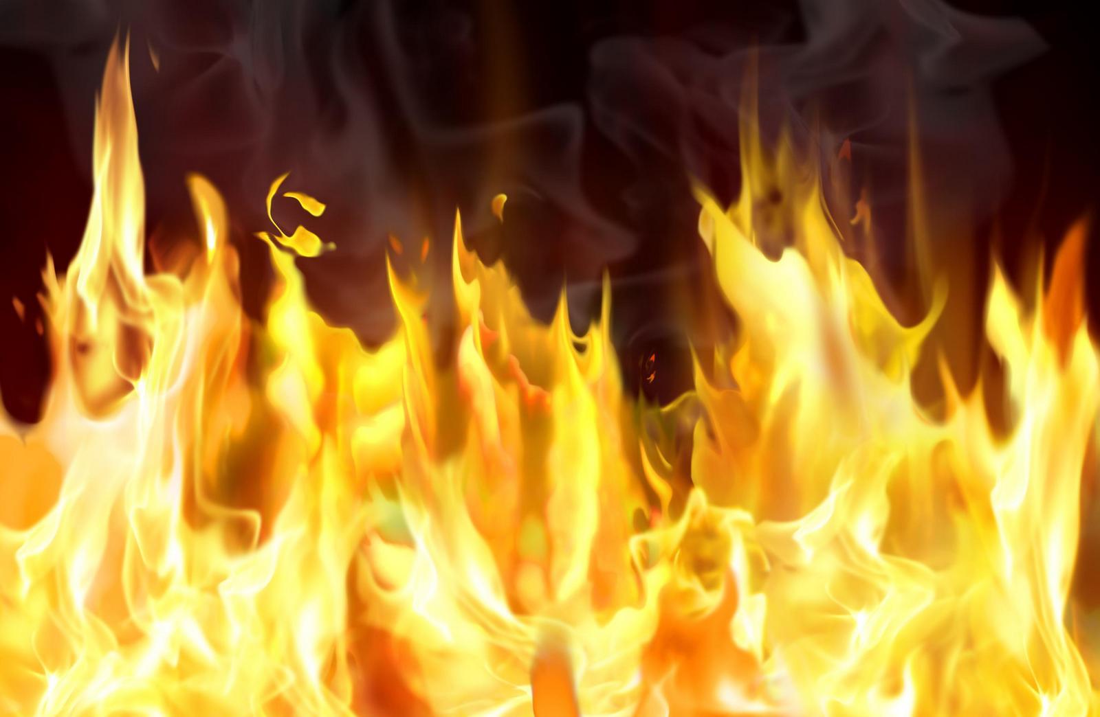 При пожаре в личном доме Лобни пострадал человек