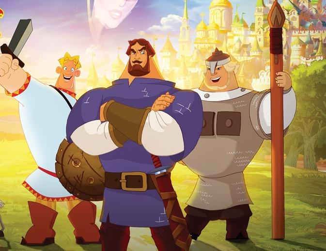 Анимация про богатырей